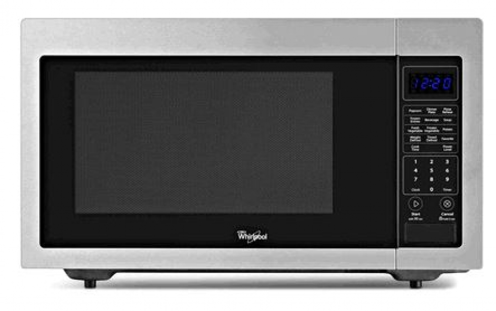 Whirlpool® 1.6 cu. ft. Countertop Microwave with 1,200 Watts Cooking Power