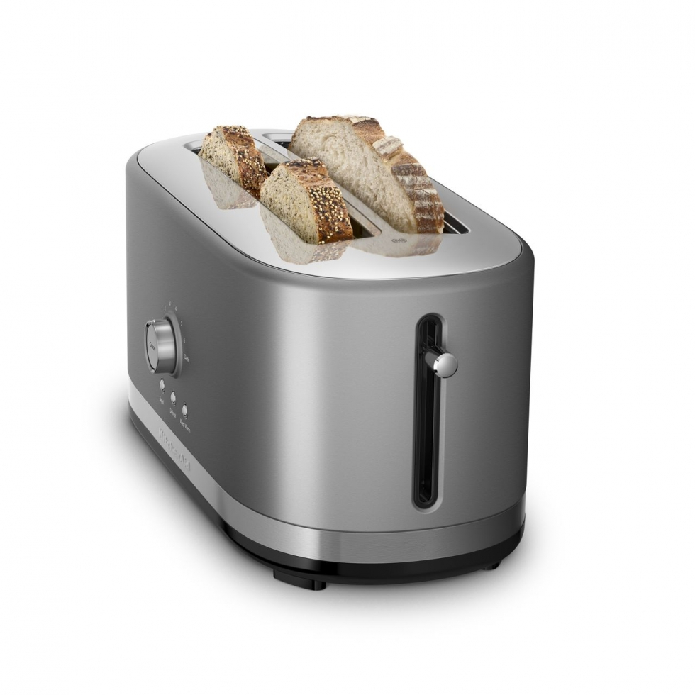 Kitchen Aid Long Slot Toaster - Contour Silver