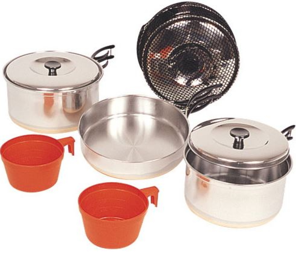World Famous Cookset - Stainless Steel