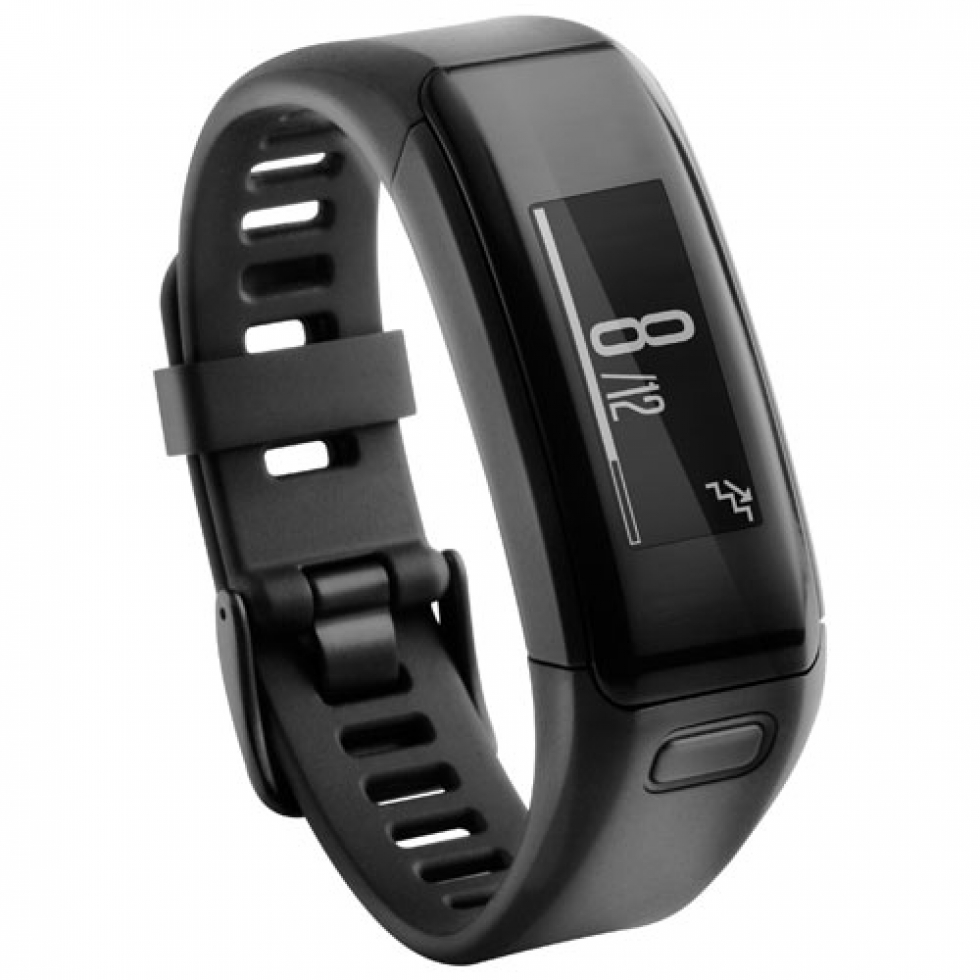 Garmin vivosmart HR Fitness Tracker - Regular - Black