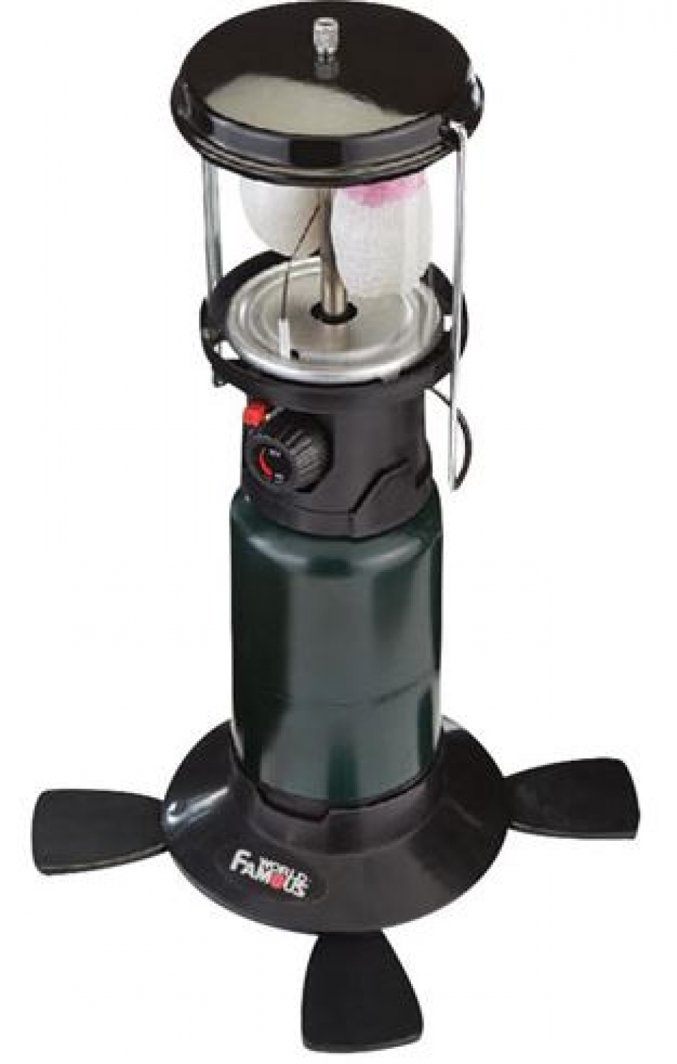 Piezo Light Double Mantle Propane Lantern