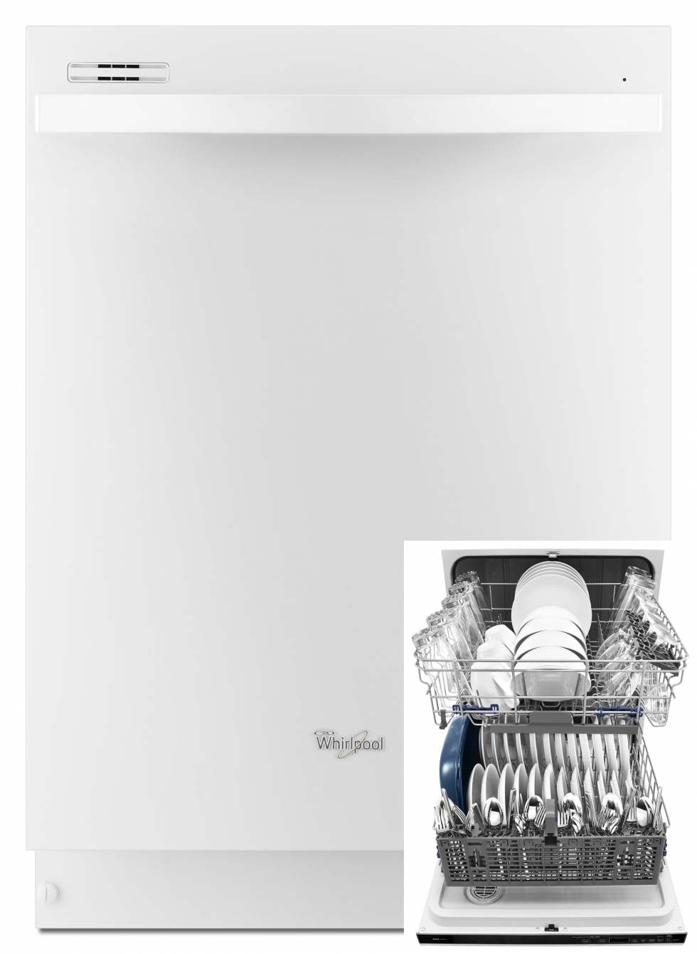 Whirlpool Gold Dishwasher White