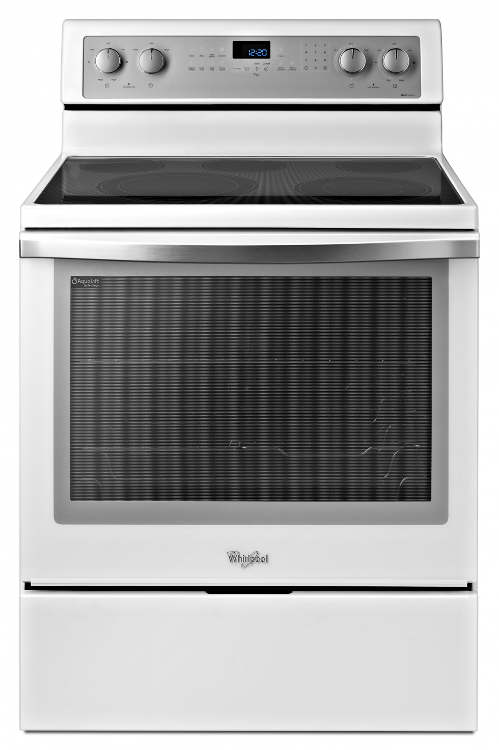 Whirlpool Gold Electric Range White