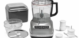 11 Cup Food Pro Exact Slice Contour Silver