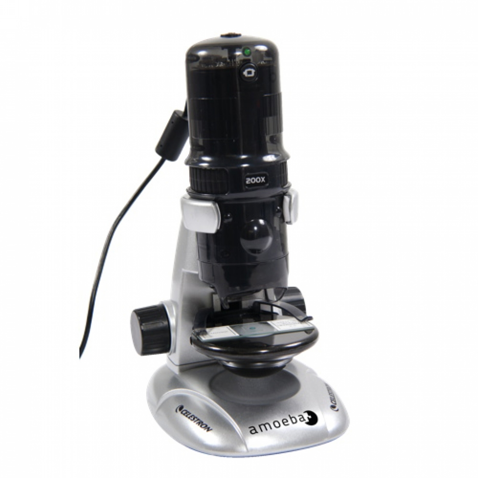 Celestron Amoeba 10 200x Dual Purpose Digital Microscope
