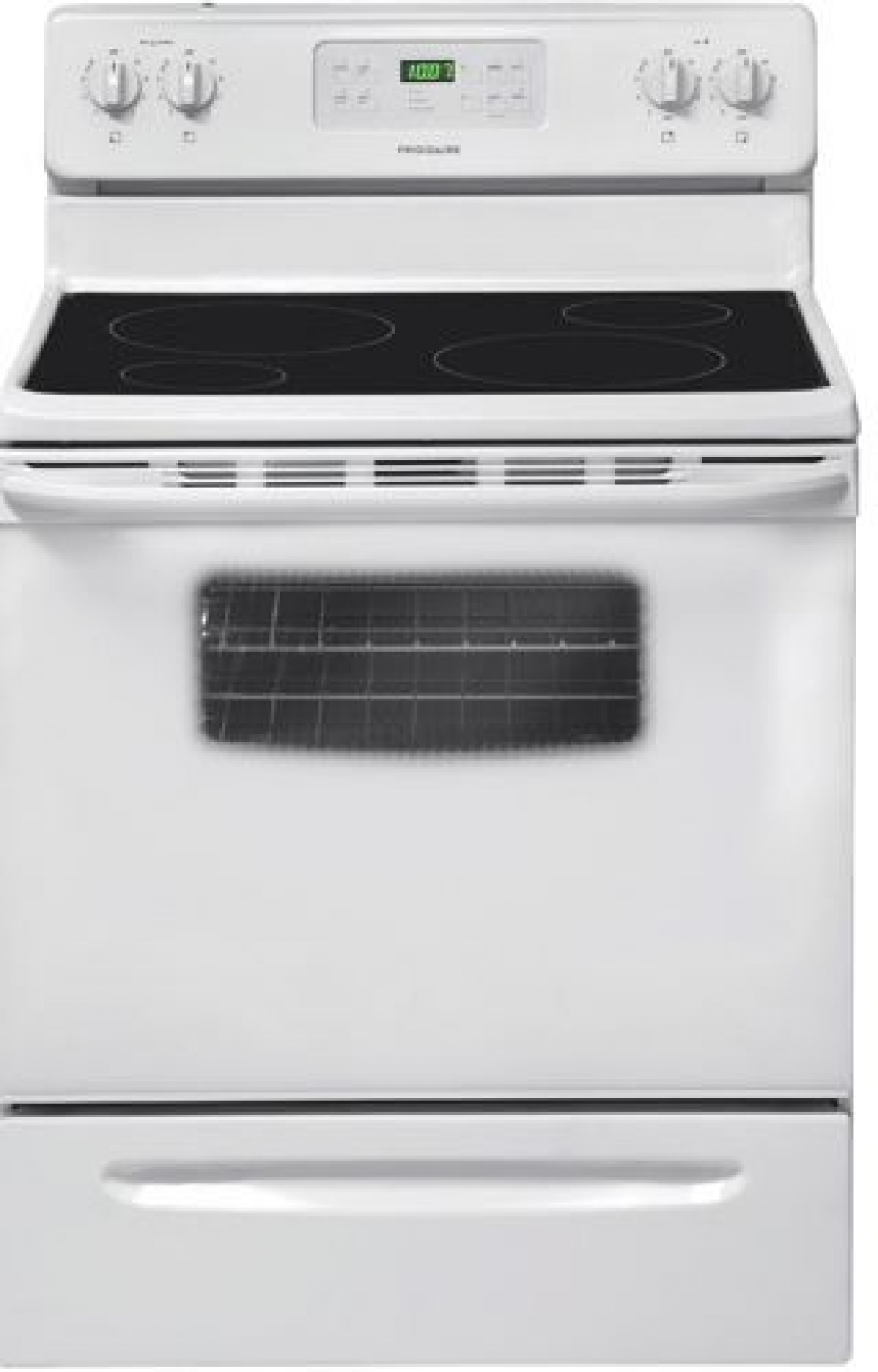 Fridgidaire Self Clean Smooth Top Electric Range White