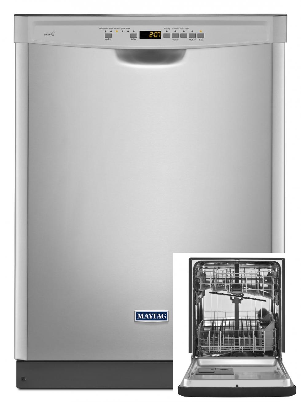 Maytag Stainless Steel Tub Dishwasher Start Saving Today