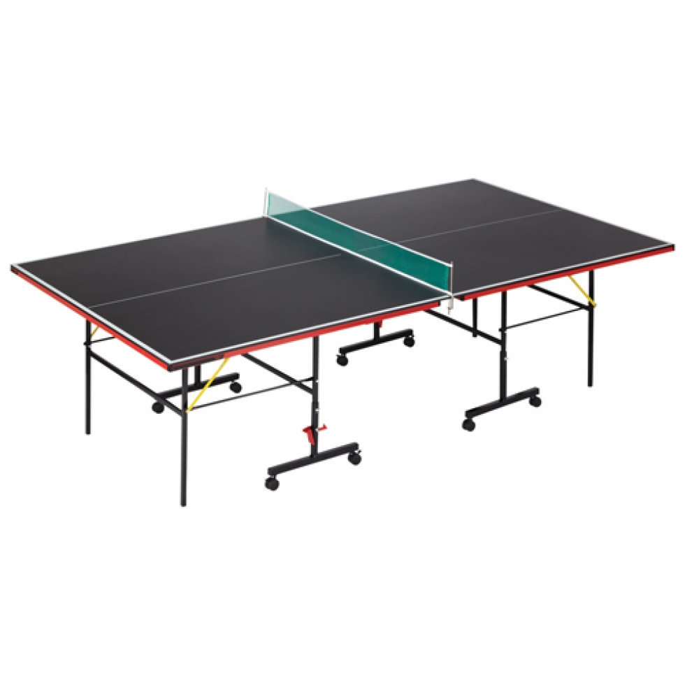 Table de tennis int rieur de 106 po aurora de viper noir for Interieur 106 sport