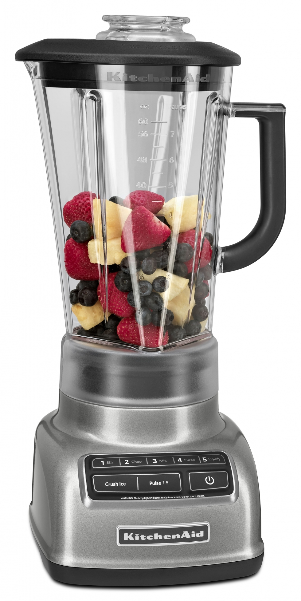 5 Speed Diamond Blender - Metallic Chrome
