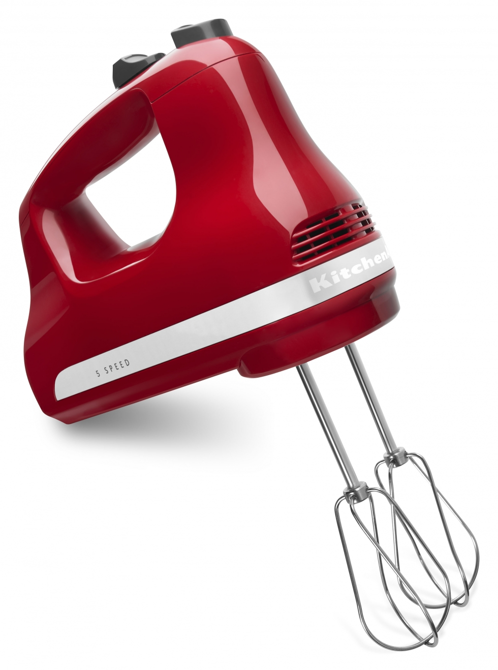 5-Speed Hand Mixer - Empire Red
