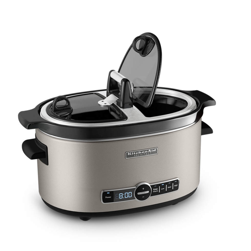6 QRT ARCHITECT SLOW COOKER COCOA SILVER