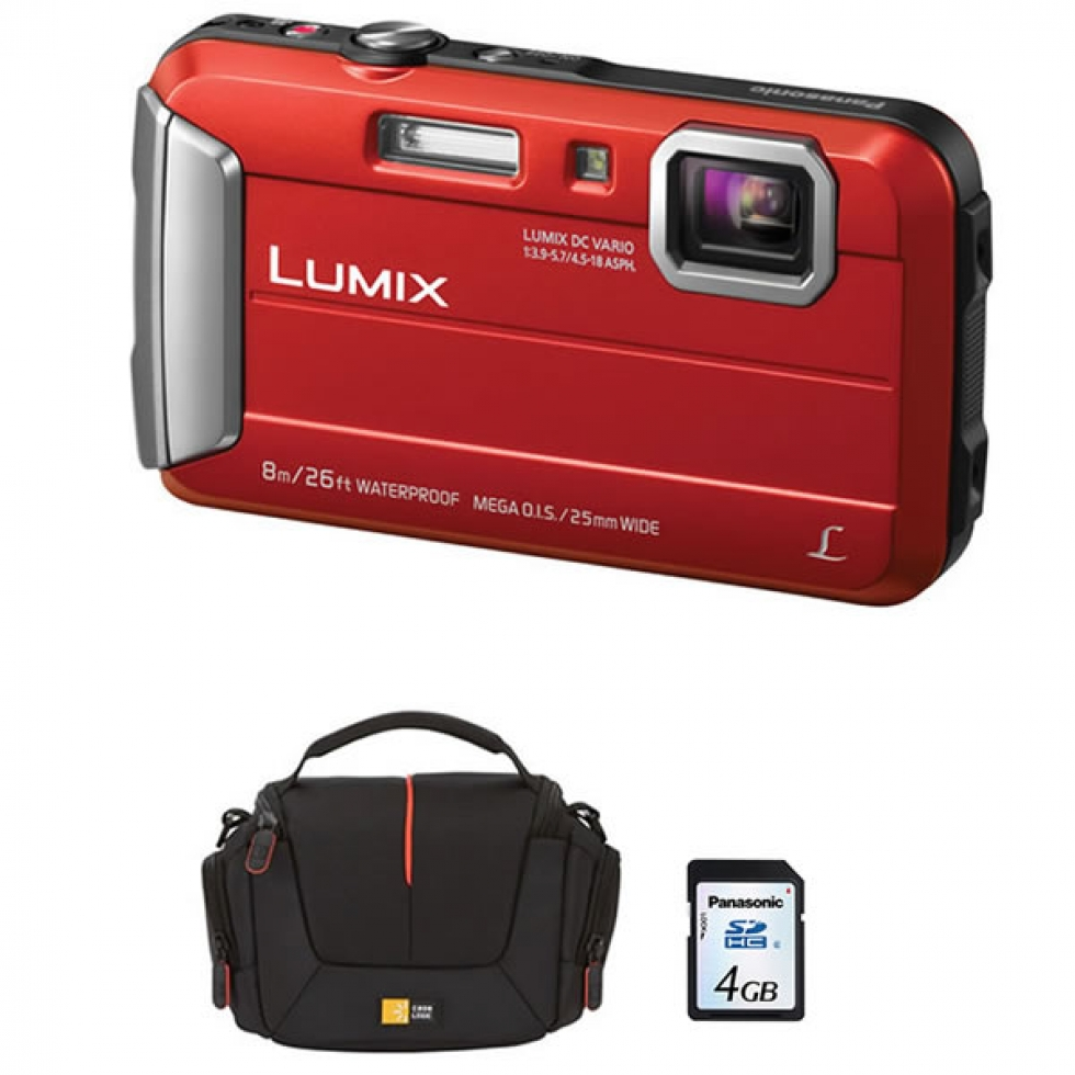 Panasonic Waterproof Digital Still Camera Bundle