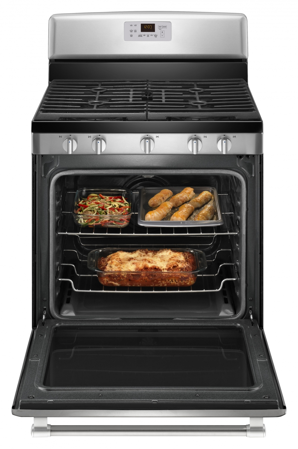 Maytag GAS RANGE WITH CONVECTION OVEN Stainless