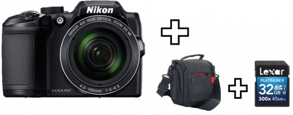 Nikon COOLPIX B500 Digital Camera Bundle