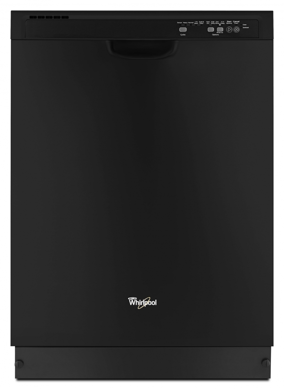 Whirlpool Dishwasher with Sensor Cycle Black