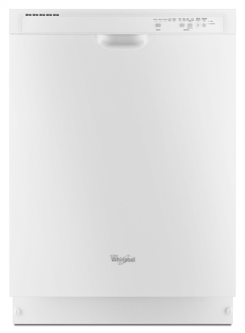 Whirlpool Dishwasher with Sensor Cycle White