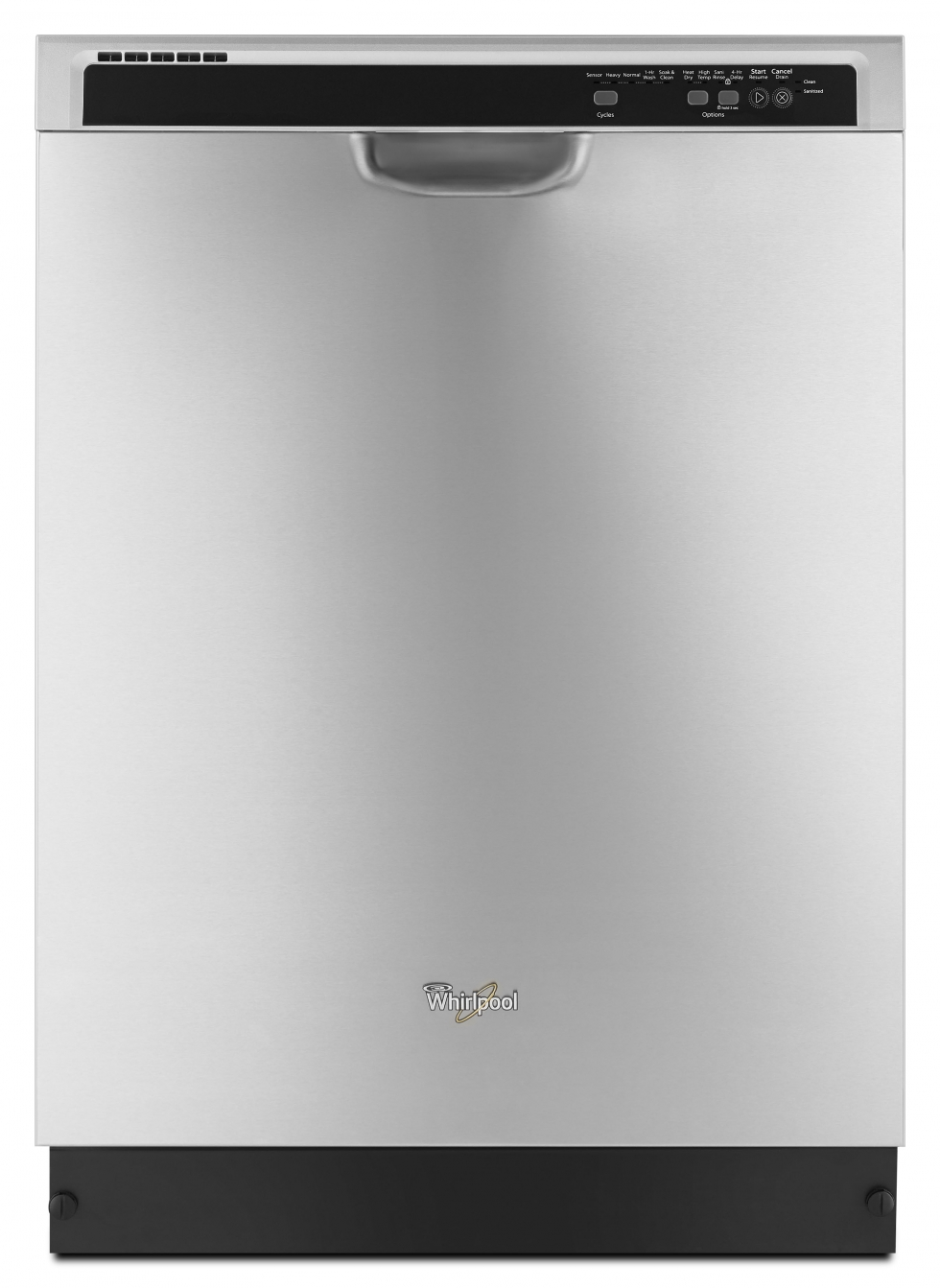 Whirlpool Dishwasher with Sensor Cycle Stainless Steel