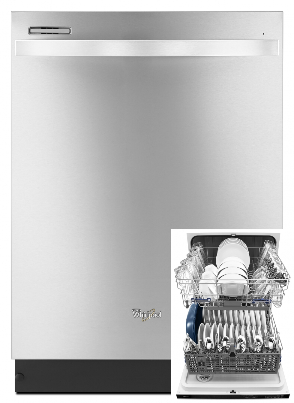 Whirlpool Gold Dishwasher Stainless Steel