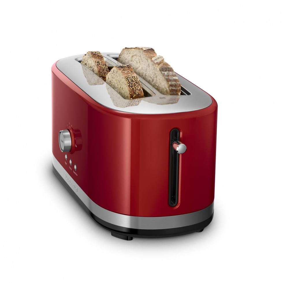Kitchen Aid Long Slot Toaster - Empire Red
