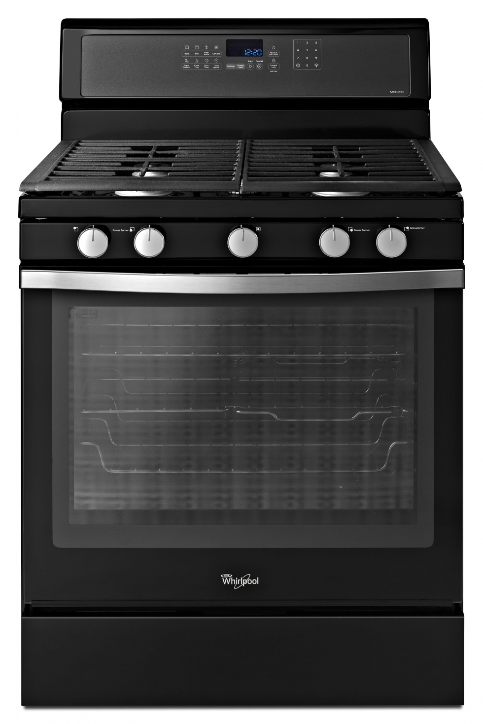 Whirlpool Gold Gas Range Black