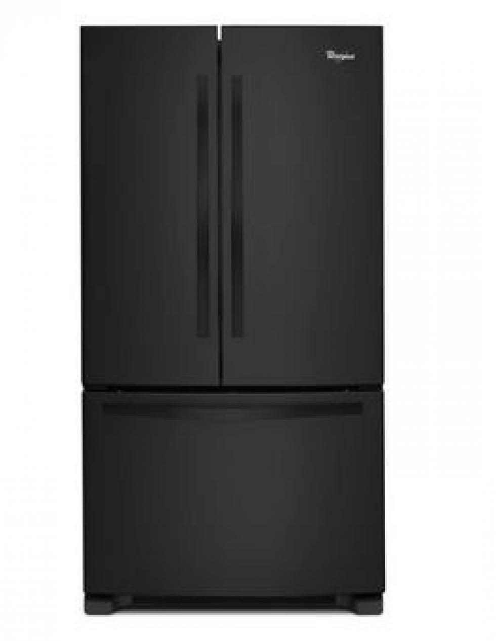 Whirlpool French Door Refrigerator Black