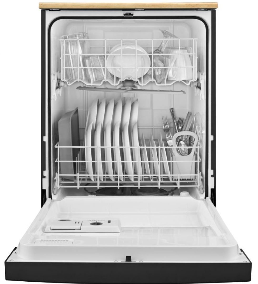 Whirlpool Portable Dishwasher-Black
