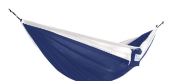 Parachute Double Hammock - Navy/White