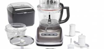14 Cup Architect Food processor with External Adustable -Cocoa Silver