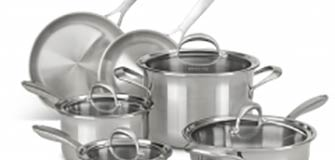 KitchenAid Copper Core 10-Piece Set