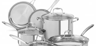 KitchenAid Stainless Steel 10-Piece Set - Polished