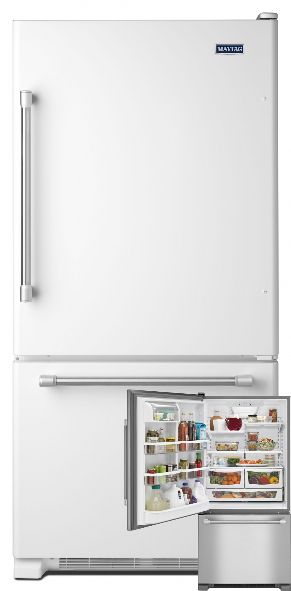 Maytag Bottom Freezer Refrigerator White Start Saving Today