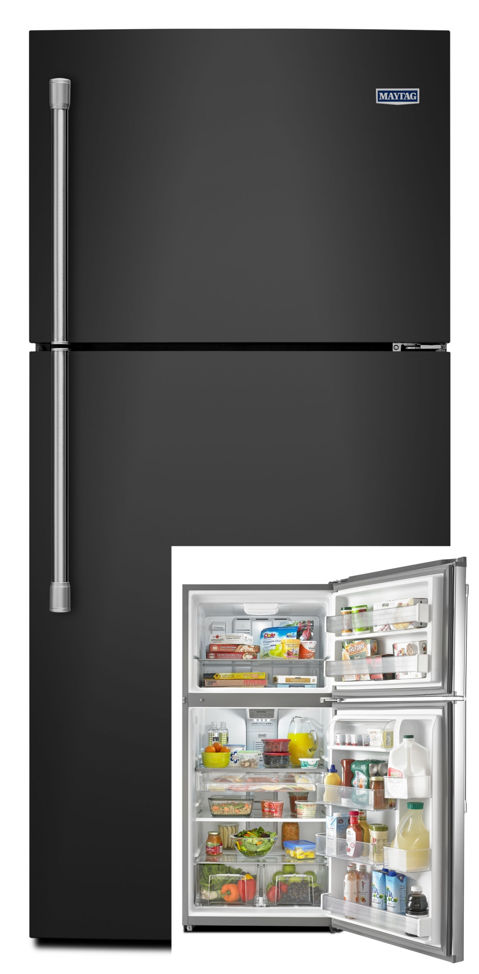 Maytag Top Freezer Refrigerator Black Start Saving Today